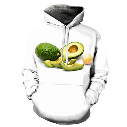 Avacado for health 3D Sweatshirt Hoodie Pullover