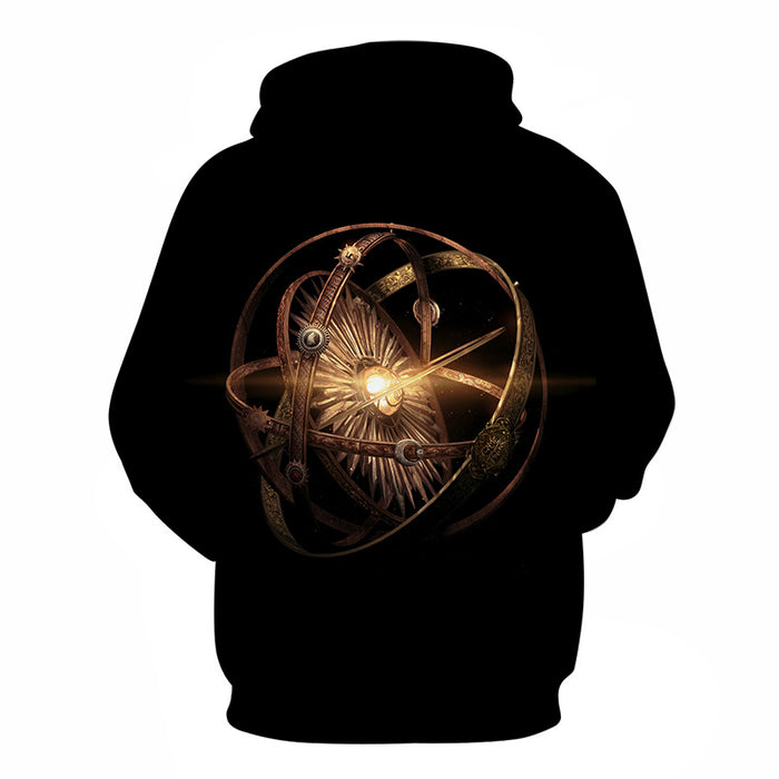 GOT Inspired- The Time Turner - 3D Hoodie Sweatshirt Pullover