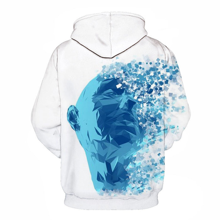 Mental Health Awareness Month - Special Collection - Random Thoughts- 3D - Sweatshirt, Hoodie, Pullover