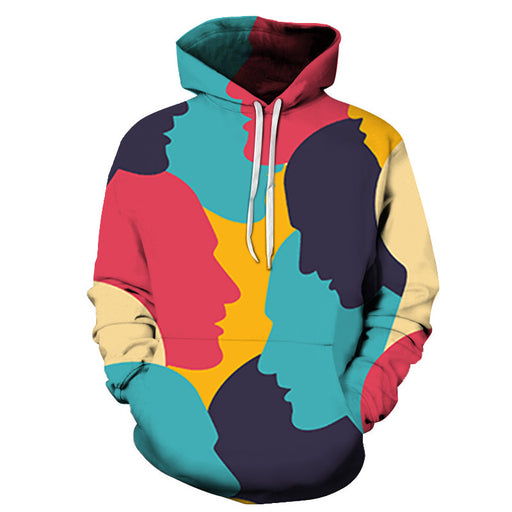 Let's Talk About It - 3D - Sweatshirt, Hoodie, Pullover