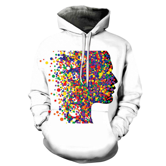 Colors of Life  3D - Sweatshirt, Hoodie, Pullover