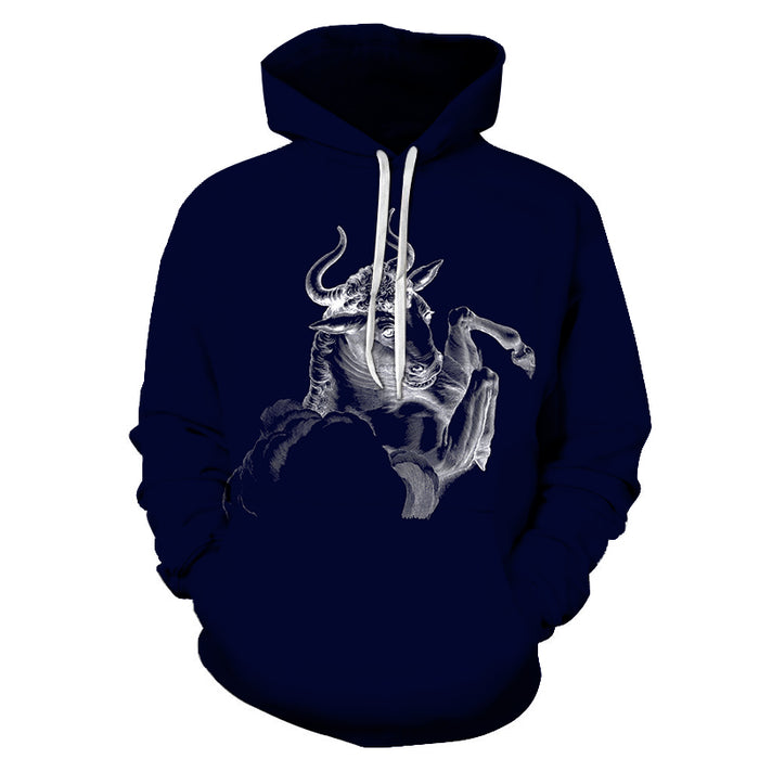The Grey Taurus- April 21 to May 21 3D Sweatshirt Hoodie Pullover