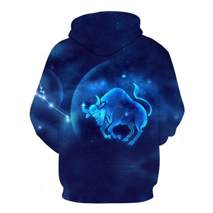 The Radiant Taurus- April 21 to May 21 3D Sweatshirt Hoodie Pullover.