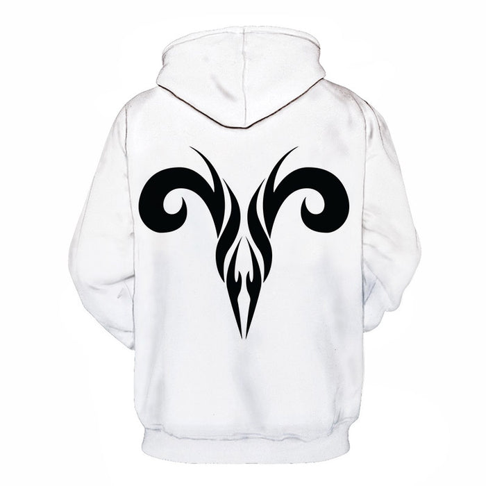 The Aries Sign- March 21 to April 20 3D Sweatshirt Hoodie Pullover