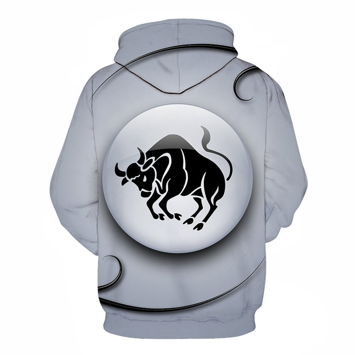 The Grey Radiant Taurus- April 21 to May 21 3D Sweatshirt Hoodie Pullover