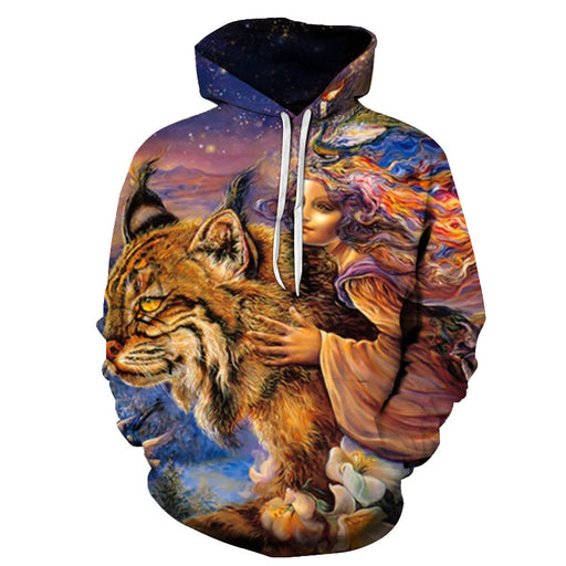 The Princess Oil Painting 3D - Sweatshirt, Hoodie, Pullover