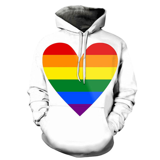The Pride Heart  3D - Sweatshirt, Hoodie, Pullover