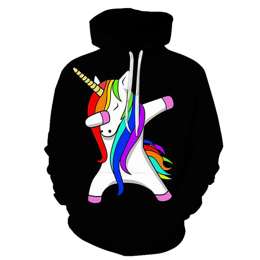 The Unicorn Dab 3D - Sweatshirt, Hoodie, Pullover