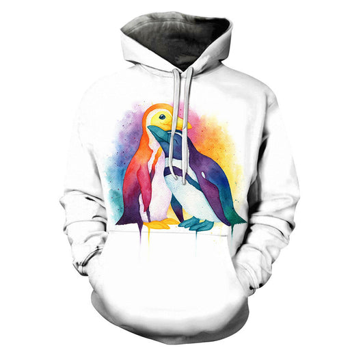 The Pride Penguins 3D - Sweatshirt, Hoodie, Pullover