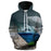 Dolphin In A Bottle 3D Sweatshirt Hoodie Pullover
