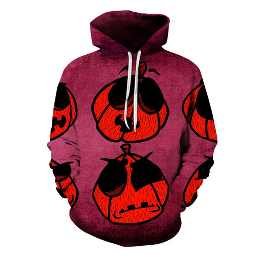 Halloween Ant Face 3D Hoodie