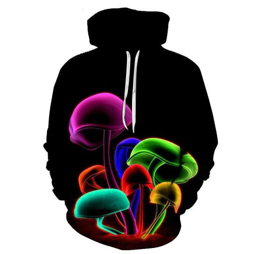 Dreamworld Mushrooms 3D Sweatshirt, Hoodie, Pullover