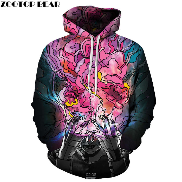 Legion Movie Inspired Cartoon 3D Sweatshirt Hoodie Pullover