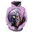 Nightmare Before Christmas Purple 3D Sweatshirt Hoodie Pullover