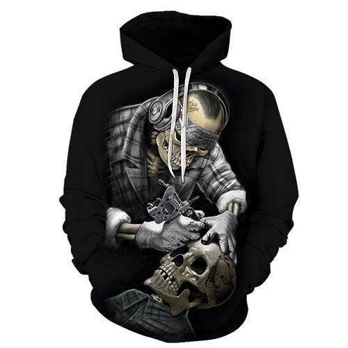 Tattoo Specialist For Skull 3D Sweatshirt, Hoodie, Pullover