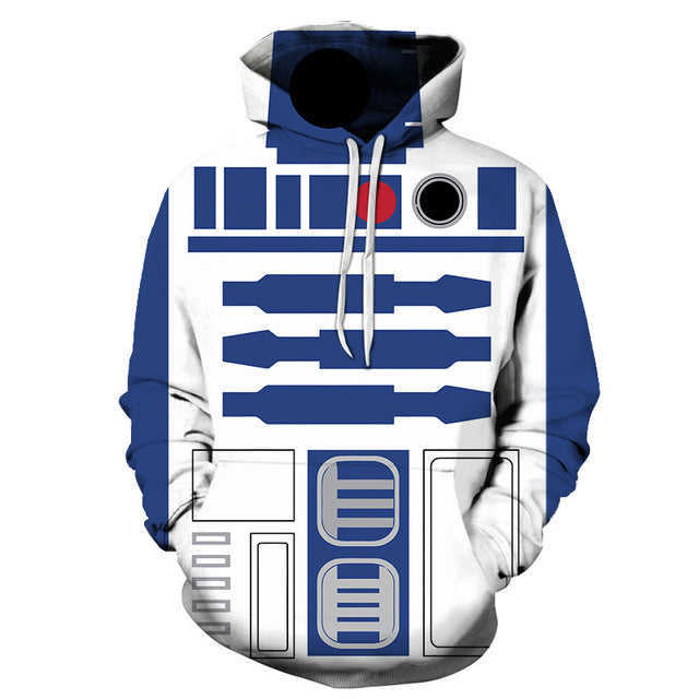 Consumer Awareness Aids Cpo Sales And Prices: Star Wars R2D2 3D Sweatshirt, Hoodie, Pullover