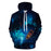 Night Lake View 3D Hoodie Sweatshirt Pullover
