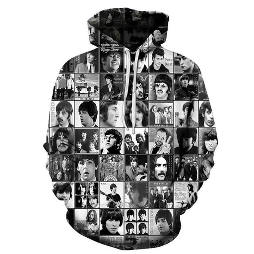 History Of Music Headportrait 3D Sweatshirt, Hoodie, Pullover