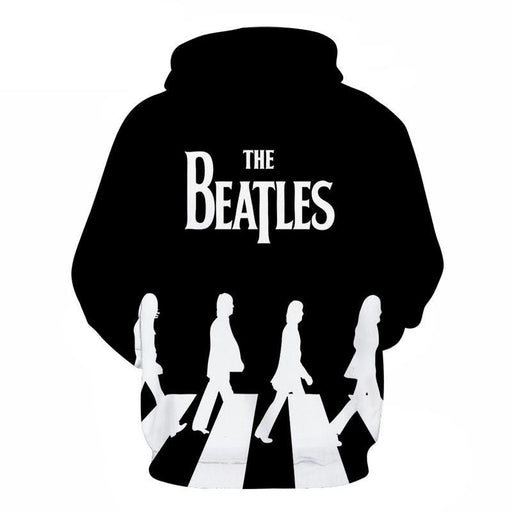 The Beatles Classic Scene 3D Sweatshirt, Hoodie, Pullover
