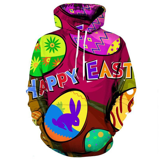 Easter Special Limited Edition 3D Sweatshirt Hoodie Pullover