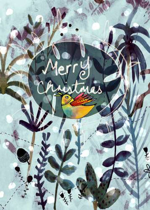 Gift Wrap Christmas-Bird
