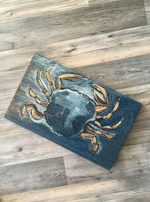 Wooden Art - Blue Crab