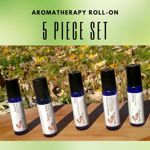 Aromatherapy Roll-On 5 Piece Set