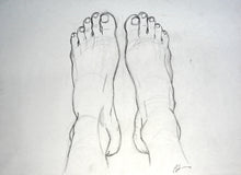 Load image into Gallery viewer, 119 - My Feet, 1999