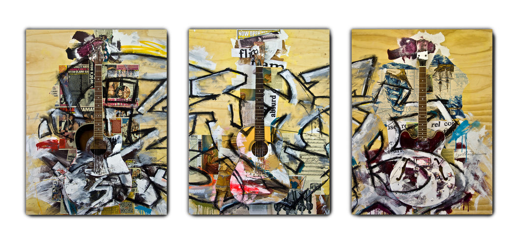 0097 - Three Guitars, 2010