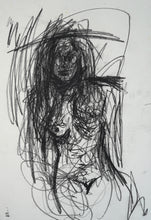 Load image into Gallery viewer, 145 - Female with Charcoal, 2007