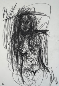 145 - Female with Charcoal, 2007