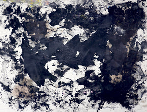 208 - Black Abstraction, 2009
