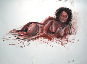 252 - Reclined Female, 2011