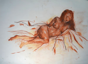 253 - Reclined Female, 2008