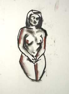 262 - Woman on Knees, 2010