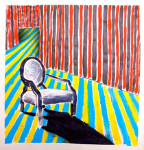 Load image into Gallery viewer, 0099 - Striped Room Chair, 2009