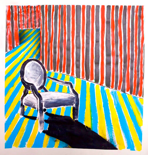 0099 - Striped Room Chair, 2009