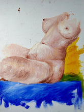 Load image into Gallery viewer, 272 - Seated Female Oil, 1999