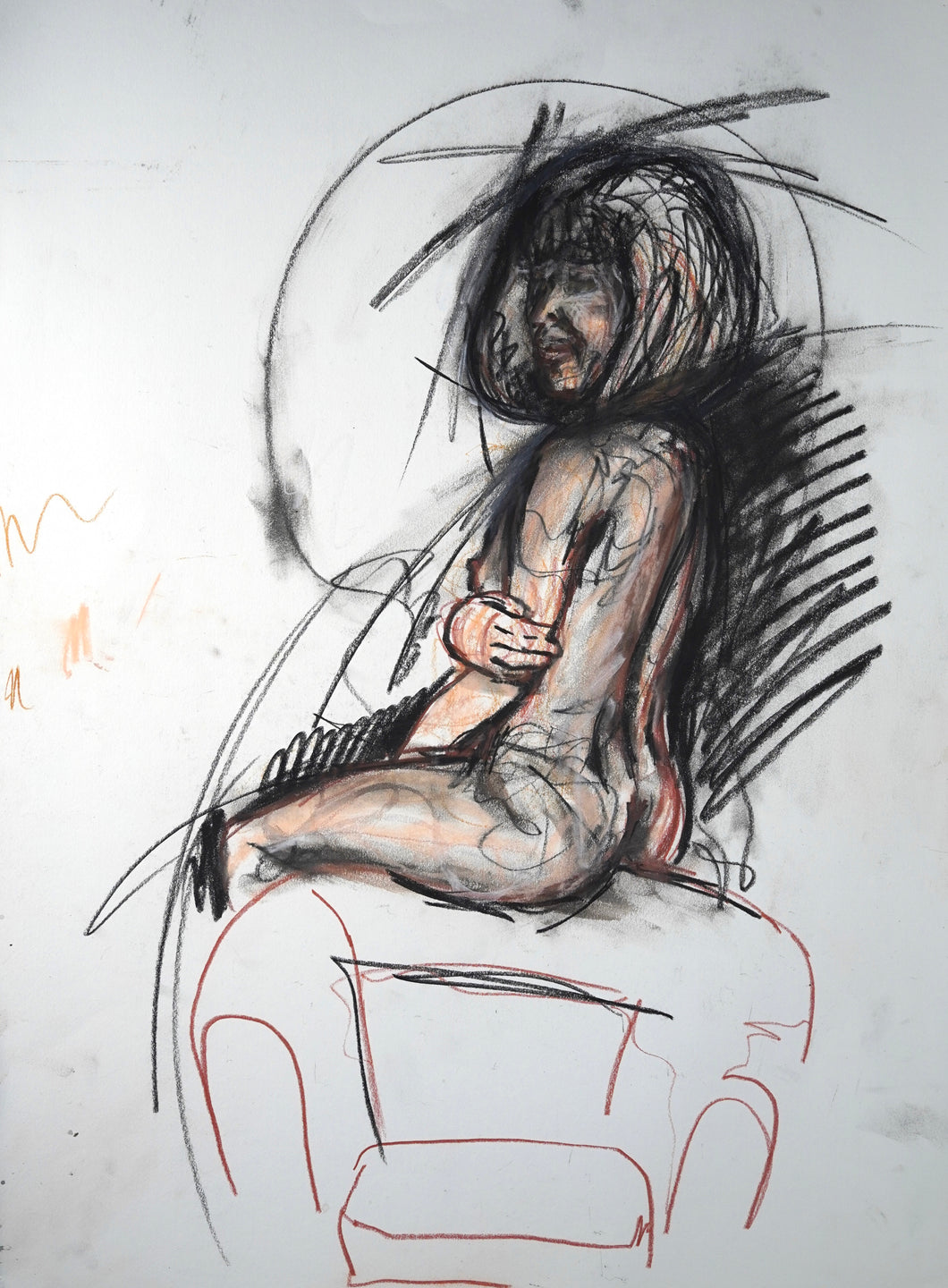 274 - Woman on Chair, 2008