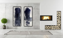 Load image into Gallery viewer, 27/28 - Diptych With Two Black Masses, 2010