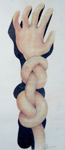 293 - I'm Knot (Self portrait), 2001