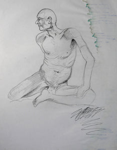 296 - Man Seated, 1999