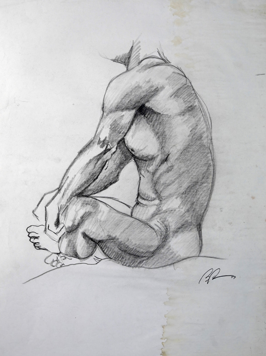 316 - Seated Man, 1999