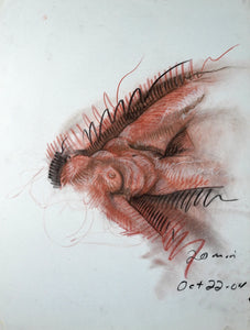 323 - Female on Back, 2004