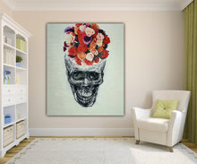 Load image into Gallery viewer, 346 - Rose Skull