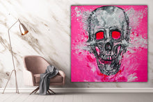 Load image into Gallery viewer, 349 - Skull in Pink