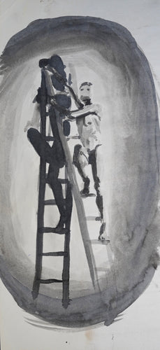 368 - Male on Ladder, 1999