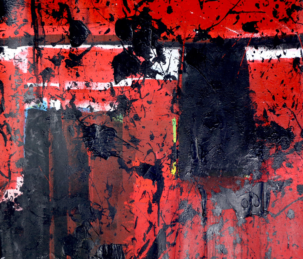 6 - Red & Black Abstraction, 2007