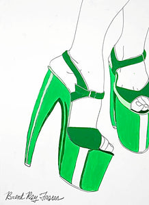 0063 - Green Stiletto, 2006