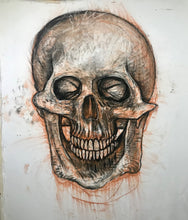 Load image into Gallery viewer, Anatomical Skull Drawing, 2019